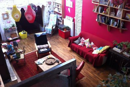 Maison d'artistes jolie et atypique - Vivonne - Dům