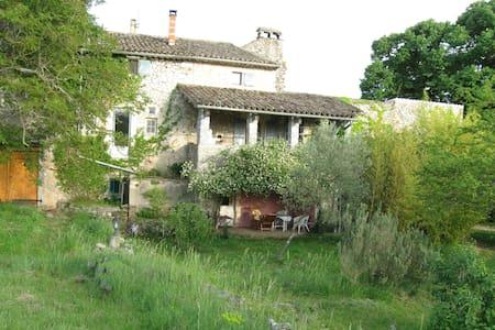Chambre d'hôte,(Iris) Vallon Pont d'Arc - Lagorce - Bed & Breakfast