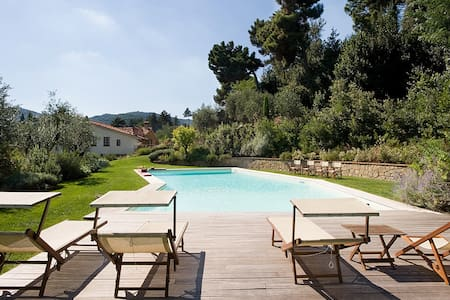 Charming restored country house with pool - Serravalle Pistoiese