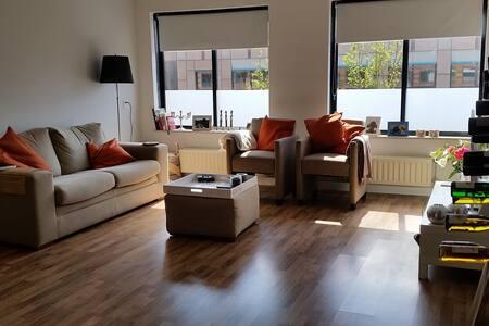 Spacious apt 6 min walk CS & centre - Utrecht - Appartement