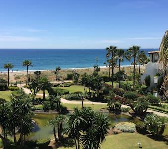 Marbella 1st line 2 beach GF apart. - Apartmen