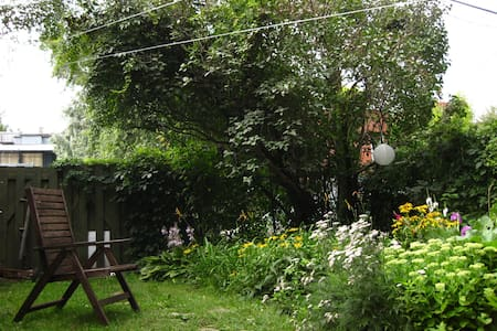 Garden and Bikes in Plateau