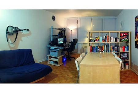Large studio in central Montreal