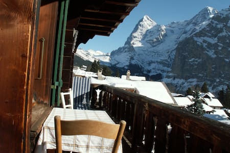 Apartment with stunning views - Mürren - Apartment