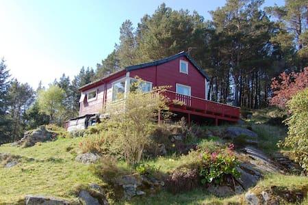 House for rent outside Bergen. - Blockhütte