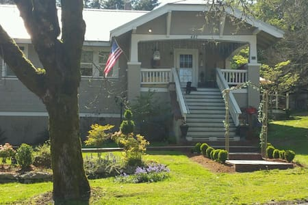 The Dovetail Room, spacious suite - Vernonia - Bed & Breakfast