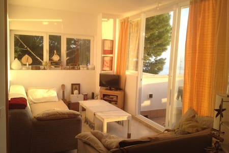 Single room in Penthouse with great terrace - Palma - Apartment