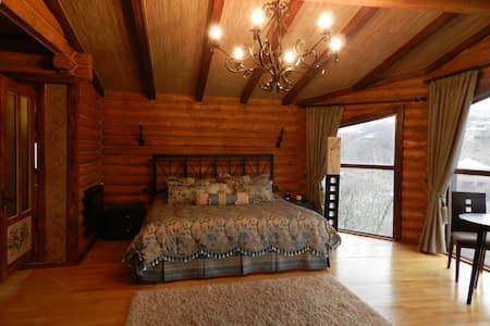 Presidential suite in log cabin - Bed & Breakfast