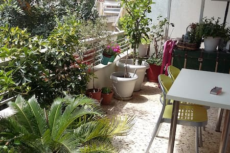 Φιλόξενο σπίτι σε όμορφη γειτονιά - Cholargos - Leilighet