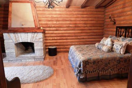 Junior suites in log cabin - Bed & Breakfast
