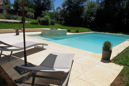 Les bergeries de Carmensac avec piscine privative - Meyrals
