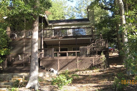 Lake Arrowhead GA Lake House - House
