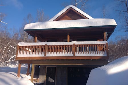 Brand new lake view cottage - McHenry - Chambres d'hôtes