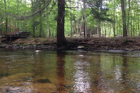 Relaxing Cosy Getaway on the Creek! - Bushkill