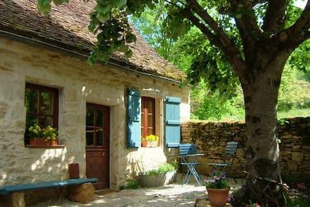 Sfeervol huis bij Dordogne, zw.bad - Huis