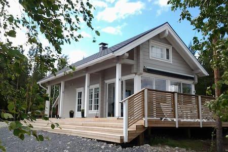SAUNAMÖKKI+AITTA+KARAOKE BAR+ LAAVU - Kinnula - Dům