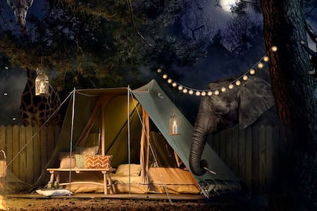 Best Kept Secret Safari Tent 10 - Zelt