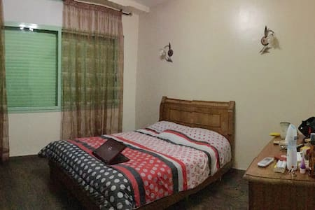 Comfortable double bedroom - Apartment