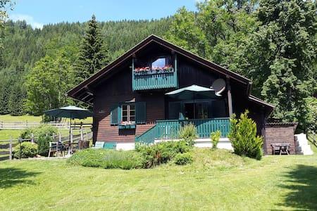Bodentalhütte - Almchalet mit Sauna auf 1.200 hm - Ferlach