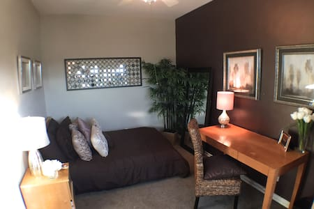 Very Tiny Micro Studio Apartment w/ Outdoor Patio!- In one of LA's most popular and safe neighborhoods ...AND one of the cheapest Private Apartments on Airbnb!!!  Its your own Private Apartment with Private Entrance for the price of a room!!!