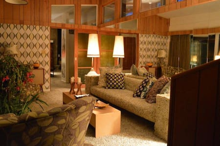 Mid Century Modern Brook House - Dom