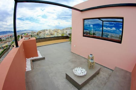 20m² Magical loft with Athens view - Πειραιάς Athens  - Apartemen