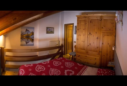 Romantic Suite Faloria, Wi-Fi, Panorama, Bus 130mt - Wohnung