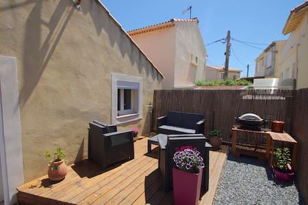 Maison T3 à 50m de la plage et du port - Fos-sur-Mer