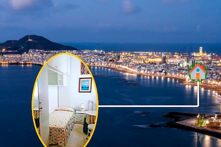 Room+WIFI+All incl.  1min to beach