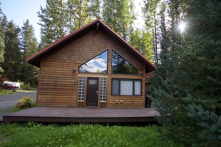 Mount Hood Cabin overlooking the glacier - Anchorage - House