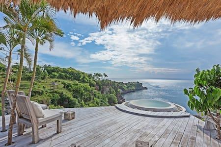 Eco luxury lofts over secret beach