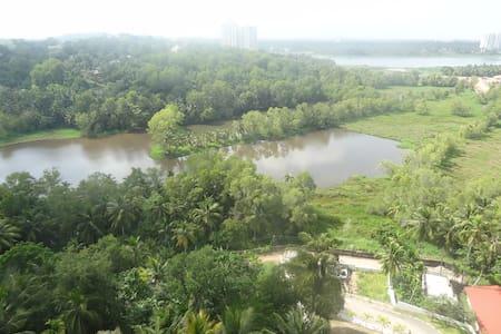 2bhk Furnished apartment near Akkulam Lake - Appartamento