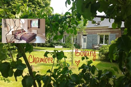 Room Bovary - Les Clés d'Auriane - Grumesnil - Bed & Breakfast