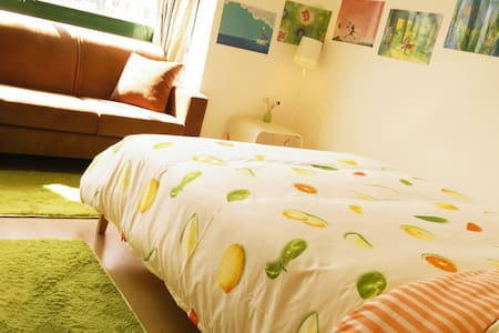 Double Room~Near Metro Station and Futian port - Shenzhen - Apartment