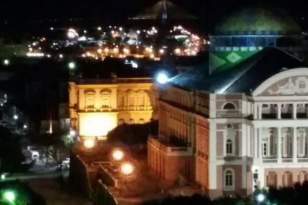 Apt 2 dorm 4 pesoas frente teatro - manaus - Apartment
