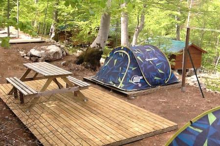 Camping au Col de Vizzavona - Tent