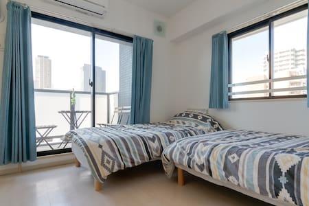 NAMBA,SHINSAIBASI,DOUTONBORI - Ōsaka-shi - Lägenhet