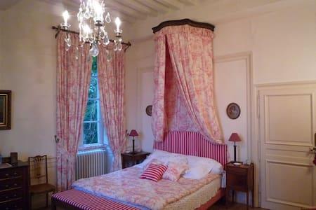 """Chambre """"Rose"""" dans un Château - Nan-sous-Thil - Castle"""