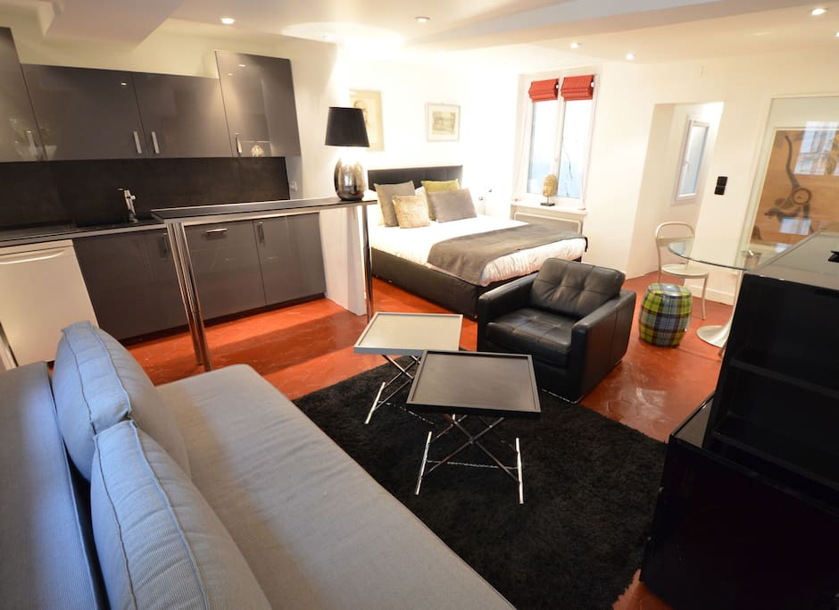 Le 36, 1BR/1BA for 3 people