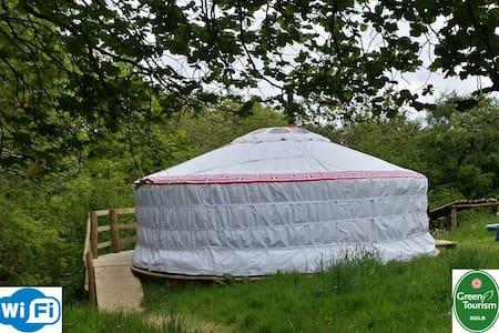 Luxury yurt & private bathroom - Cookbury, Devon