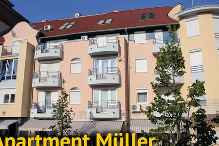 Apartment Müller, 250m from lake!