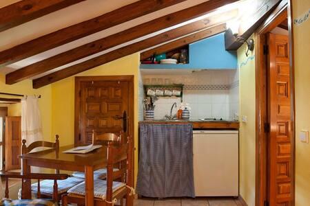 Brezo:  Estudio rural abuhardillado - Apartment