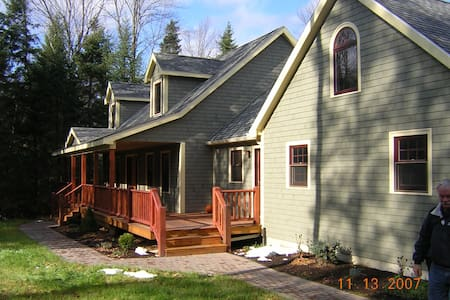 Fun home-4 miles from downtown - Lake Placid - Huis