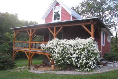 Adair Hill Rental - near Lexington - Rockbridge Baths - Blockhütte