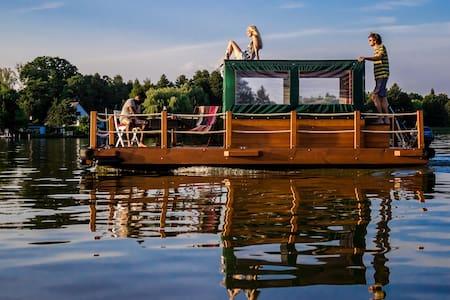 Urlaub auf dem Floß - Heidesee - Barco