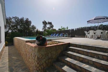 Grande Villa Daria Sol Pool and View - Lloret Blau
