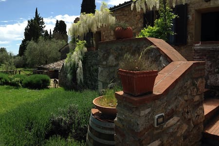 Relax & wine in an ancient farm - Sovicille - House