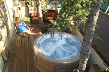 Rockies Resort cottage in Radium, comp Spring pass - Bungalov