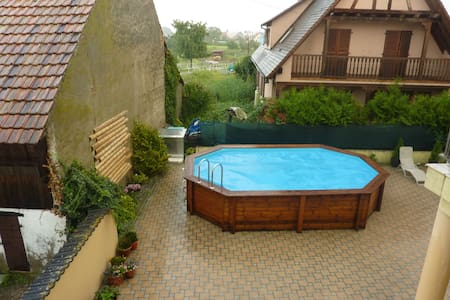Delightful Alsace house with pool