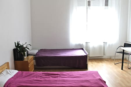 Helle Ferienwohnung direkt am Rhein - Oestrich-Winkel - Apartment